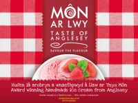 Monarlwy.co.uk - Môn ar Lwy - hand made real dairy ice cream - A Taste of Anglesey