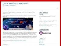 cancerresearchgenetics.co.uk Thumbnail