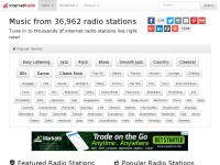 Internet Radio: Free Music from Thousands of Stations