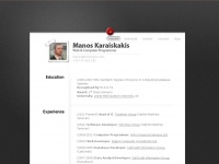 Manos Karaiskakis | My Resume Online! | Experienced Web & Software Developer | PHP & iPhone Programmer | IT Systems Consultant