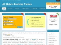 Reliable Travel and Accommodation solutions for travellers - All Hotelsbooking Center Turkey