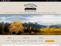 Overlander Mountain Lodge and Jasper East Cabins - Overlander Mountain Lodge