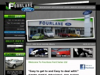 Fourlane Ford Sales Ltd located in Innisfail, Alberta, Canada