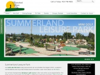 Gull Lake RV Park, Mini Golf, Driving Range | Summerland Leisure Park