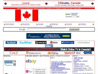 Canada Information, Reference & Software Guide - EZGuide(r)Canada