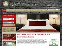 Coquitlam Hotel near New Westminster and Burnaby | Best Western Hotel & Convention Centre