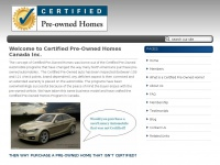 Certifiedpreownedhomes.ca