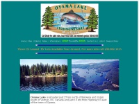 Oyamalakefishingresort.ca