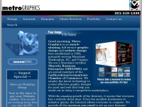 Graphic Design & Web Design for Maryland - Metro Graphics