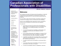 canadianprofessionals.org Thumbnail