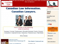 canadianlawsite.ca