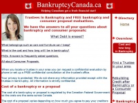 bankruptcycanada.ca Thumbnail