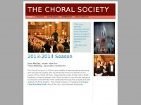Thechoralsociety.org