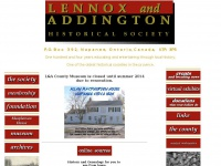 lennoxandaddingtonhistoricalsociety.ca