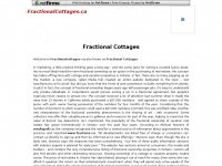 fractionalcottages.ca