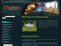 Discover Kirkland Lake - Home