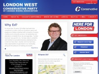 Ed Holder | London West Conservative Representative