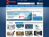 The market leader in specialty hardware products - Richelieu Hardware