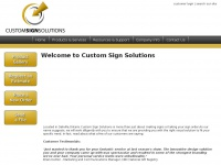 customsignsolutions.ca Thumbnail