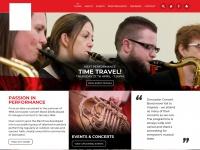 Doncasterconcertband.co.uk