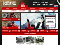 Powersports Canada, Ottawa, Ontario, Honda, Yamaha, Ducati, Motorcycle, ATV, Scooter, Dealer, Used, Parts, Accessories, Apparel, Accessories, Service