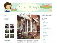 Apron Strings — A cup of love and a bit of a mess