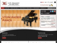 Jdgrandt.com - J. D. Grandt Piano Supply Co. | 181 King Road - Richmond Hill, ON Canada
