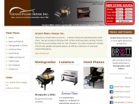 Grand Piano House - piano store serving Aurora, Richmond Hill, Newmarket, Toronto, Markham, Barrie, Vaughan & surrounding areas