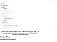 guitarsocietyoftoronto.com
