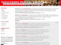 Shevchenko Musical Ensemble