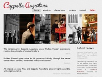cappella-augustana.org Thumbnail