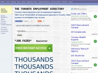 The Toronto Employment Directory