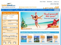 Cheap Vacations - Vacation Packages - Last Minute Vacations - Belair Travel