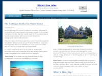 PEI Cottages, PEI Vacations, Golf, Family Holiday Rentals Accomodations