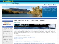 Welcome to Boat Launches Canada