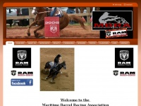maritimebarrelracing.com