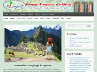 Study abroad Program  | Immersion Language Programs | bilingual programs | Language Immersion