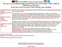 ford2000tractorparts.com