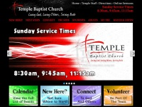 Templebaptistcullman.com - Temple Baptist Church