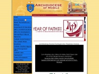mobilearchdiocese.org Thumbnail