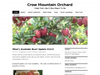 Crowmtn.com - Crow Mountain Orchard, Fackler Alabama