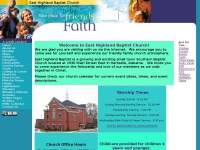 easthighlandbaptist.com