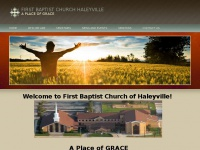 First Baptist Church of Haleyville  A Place of GRACE