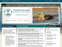 The North Slope Borough School District / Homepage