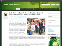 greenpartywatch.org Thumbnail