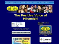 Liferadio.ca - Life Radio - Miramichi's Positive Hit Radio Station!
