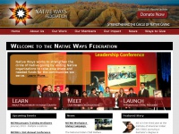 Welcome to the Native Ways Federation | the Native Ways Federation