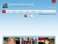 Freedom Christian Academy - Education On The Right Foundation