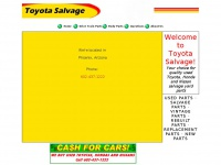 toyotasalvage.com