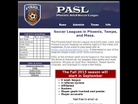 The Phoenix Adult Soccer League is a competitive amateur league which plays ...
